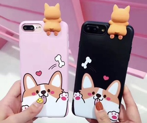 black, case, and cute image