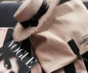 fashion, vogue, and magazine image