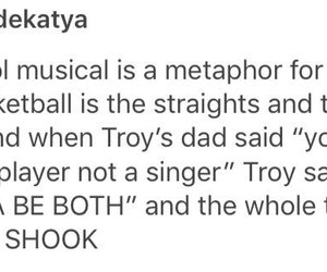 bisexuality, troy, and high school musical image