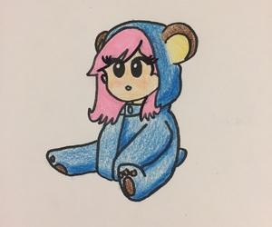 anime, cartoon, and chibi image