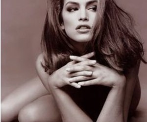 blanco y negro and cindy crawford image