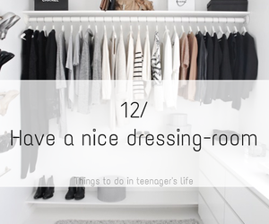 dressing room, follow me, and we heart it image