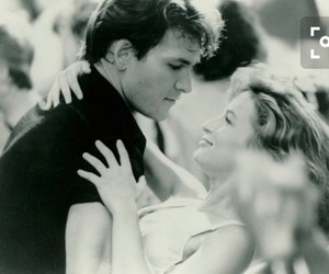 dirty dancing, patrick swayze, and dance image
