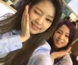 blink, jennie, and girl group image