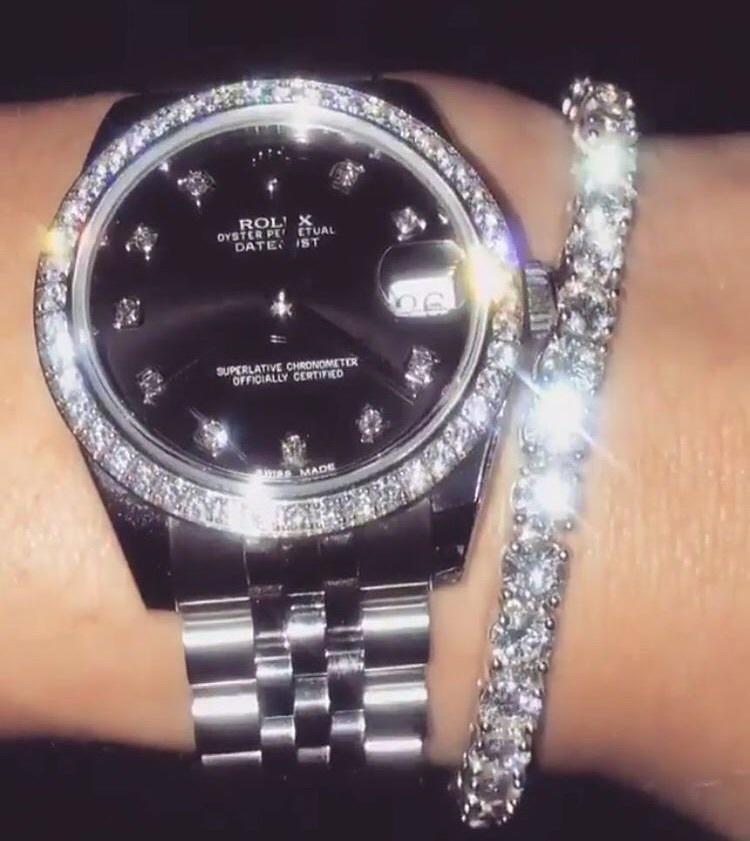 bracelet, diamond, and luxury image