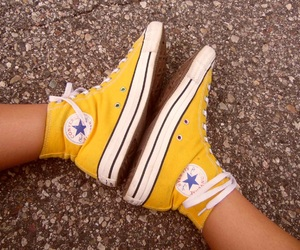 all stars, converse, and feet image