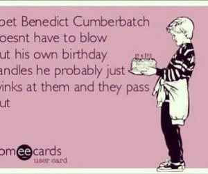 benedict, hilarious, and lol image