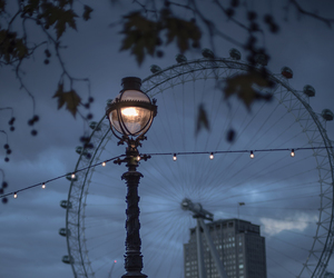 london, city, and london eye image