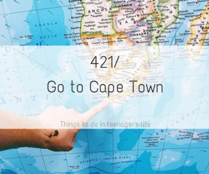 africa, cape town, and holiday image