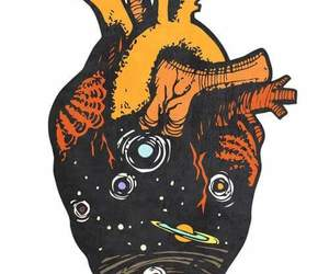 heart, art, and space image