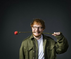 rose, singer, and ed sheeran image