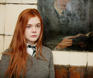 Elle Fanning, ginger, and redhead image