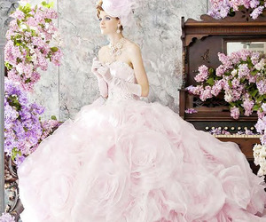 ball gown, color, and dress image