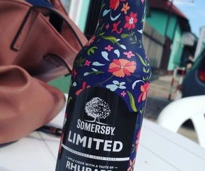 drink, life, and somersby image