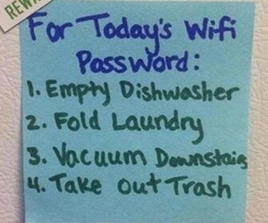 funny, reward, and wifi image