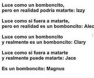 izzy, magnus, and jace image