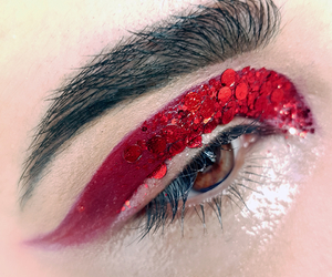 avant garde, glitter, and editorial image