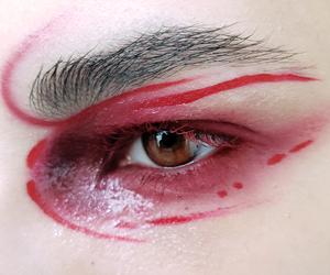 avant garde, editorial, and eyeliner image