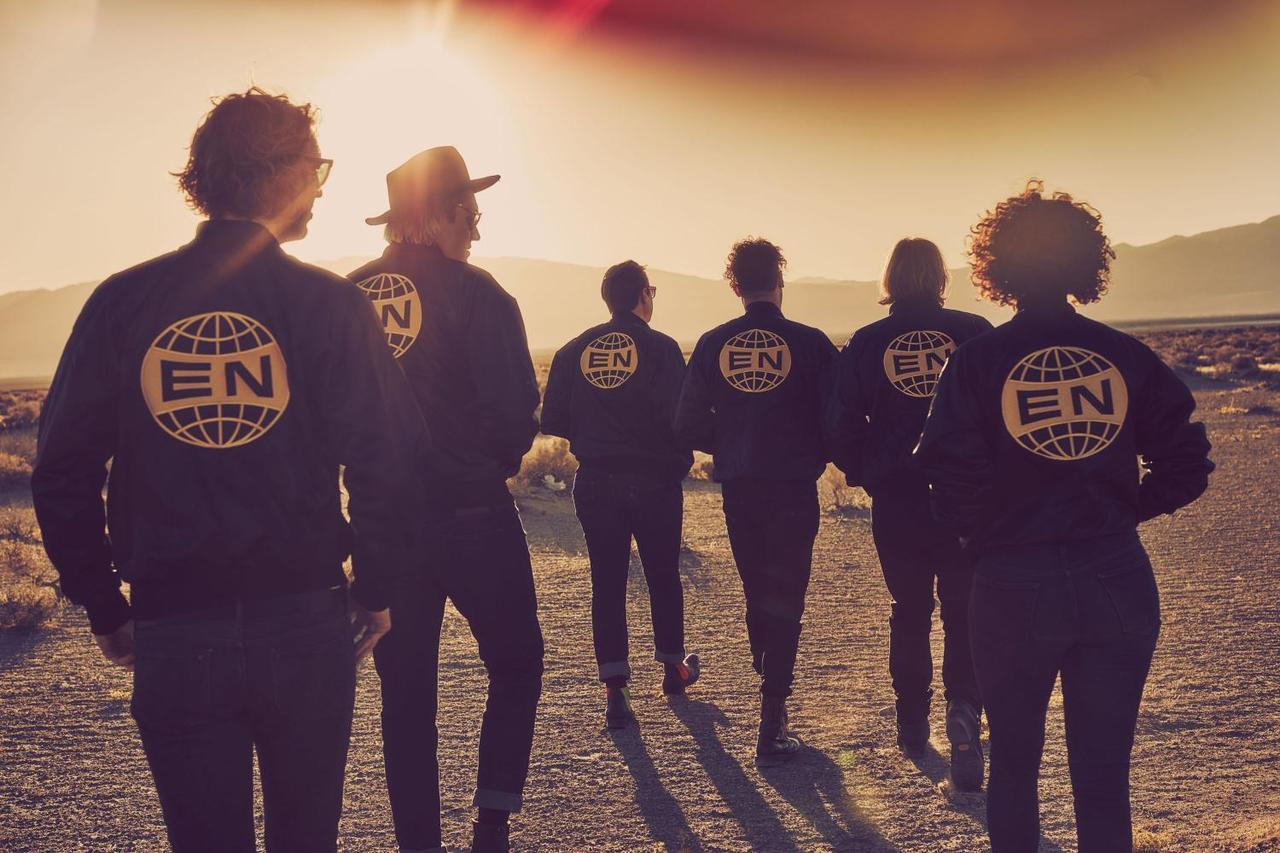 afterlife, everything now, and arcade fire image