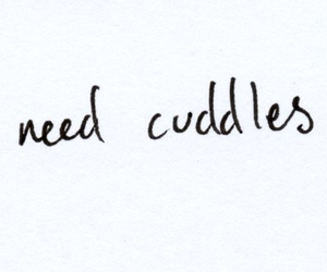 cuddle, love, and need image