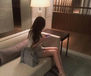 aesthetic, faceless, and korean image