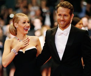 blake lively, ryan reynolds, and couple image