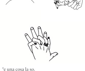 amore, love, and hand image