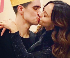 brendon urie, patd, and couple image