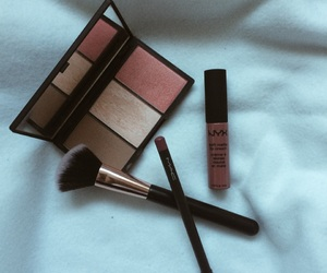 blush, highlighter, and lip image