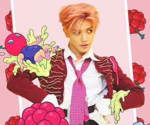 taeyong, nct, and cherry bomb image