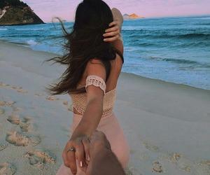 beach, summer, and boy image