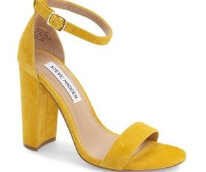 shoes yellow image