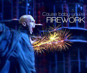 firework, harry potter, and voldemort image