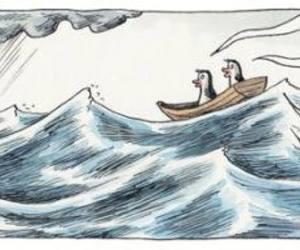 liniers, pinguinos, and tormenta image