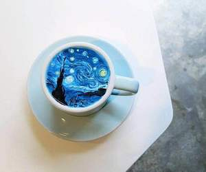 amazing, cup, and vincent van gogh image