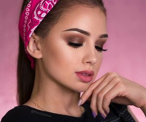 fancy, makeup, and maquillaje image