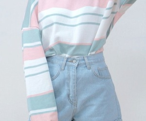 fashion, pastel, and blue image
