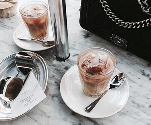 chanel, coffee, and yummy image