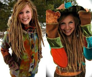 dreads, girl, and cute image