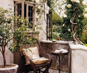 garden, balcony, and home image