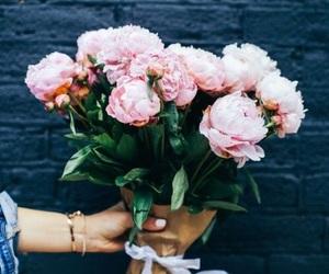 beautiful, flowers, and grunge image