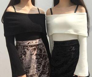 aesthetic, fashion, and korean fashion image