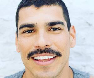 actor, man, and moustache image