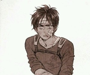 snk, eren jaeger, and attack on titan image