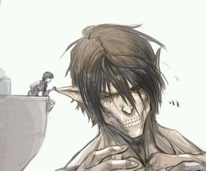 attack on titan and eren image