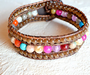cuff, etsy, and gypsy bracelet image