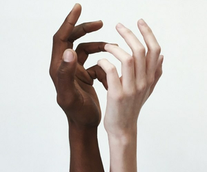 aesthetic, hands, and white image
