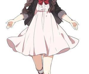 anime, girl, and glasses image