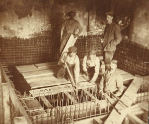 worker, 1916, and eisenbeton image