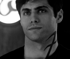 black and white, alec lightwood, and 2017 image
